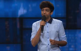 Nik Dodani jokes about being Indian and gay on Stephen Colbert