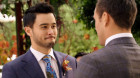 'Neighbours' airs historic same-sex wedding of David and Aaron