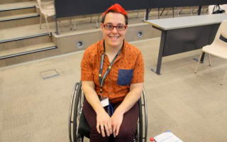 Jax Jacki Brown speaks about disability and sexuality