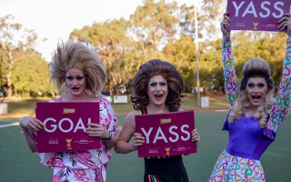 Get fired up for the inaugural Pride Sports Festival this November