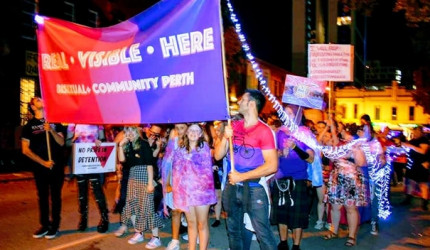 Bi+ Community Perth talk visibility, stigma and unicorn piñatas