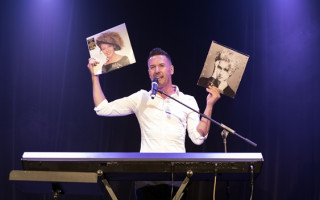 Review   Michael Griffiths' Kylie cabaret was love at first sight