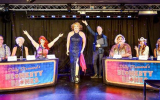 Review | Dolly Diamond sparkles in her version of Blankety Blanks