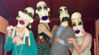 Deb Elkes brings her brilliant crochet creations to Toodyay Fibre Festival