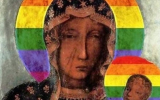 LGBTI activist arrested in Poland over religious rainbow images