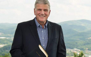 Franklin Graham praises Donald Trump for rainbow flag ban
