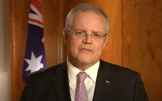 PM Scott Morrison's approval rating plummets in latest Newspoll