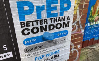 Controversial PrEP posters appear around Perth suburbs