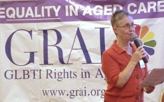 June Lowe retires from GRAI after thirteen years of service