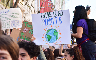 There will be no news during the strike for climate action