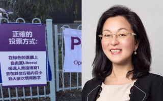 Liberal party official admits Gladys Liu's posters designed to confuse voters