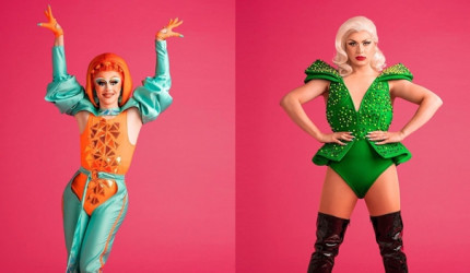 Cheryl Hole & Blu Hydrangea join God Save Our Queens tour