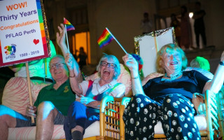 PFLAG Perth celebrate 30 years of supporting the LGBTIQ+ community