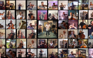 WA Symphony Orchestra excels at social distancing