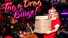 Tag A Drag Bingo is streaming live into your living room