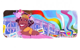 Google Doodle honours trans pioneer and LGBTIQ+ hero Marsha P. Johnson