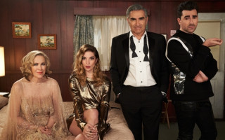 'Schitt's Creek' family make history at 2020 Emmy Awards