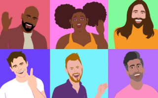 Lizzo teams up with the Queer Eye cast for an animated video