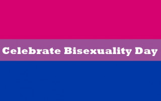 It's Celebrate Bisexuality Day!