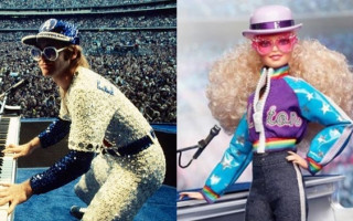 Mattel releases limited edition Barbie styled after Elton John