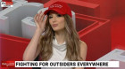 Lauren Southern joins 'Outsiders' and rallies against diversity programs in the military