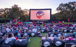 Soak up some film favourites under the stars with Moonlight Cinema