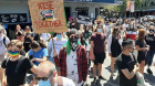 NSW protesters defy ban to march against Latham's anti-trans Bill