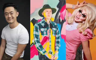Archibald Prize After Hours: Hear Trixie Mattel chat to Benjamin Law