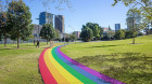 Equality Green: Rainbow path to honour marriage equality decision