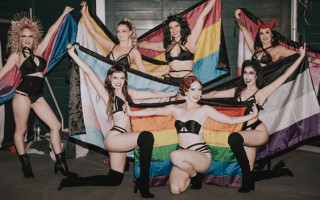 Settle in for some Pillow Talk with the ladies of BurLEZque at Fringe World