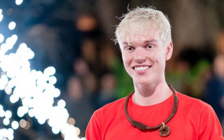 Jack Vidgen has been catapulted into a swamp and out of the jungle