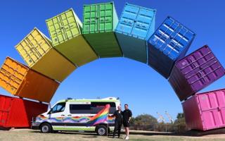 Local artist sees his design on St John's Glambulance