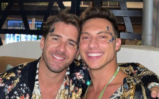 Hugh Sheridan proposed to partner Kurt Roberts