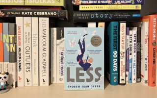 Queer Book Club's March selection is 'Less' by Andrew Sean Greer