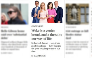 The Australian says gay & trans 'woke sub-brands' a threat to Australian way of life