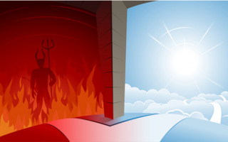 Pole Dancing or Conversion: when heaven becomes hell, & hell, heaven