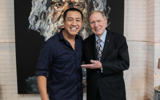 Michael Kirby shares his life story on 'Anh's Brush With Fame'