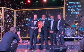Richard Goyder named West Australian of the Year