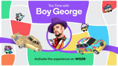 Boy George teams up with navigation app Waze for Pride month