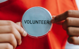 Put your hand up and become a volunteer in your community