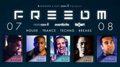 EDM lovers – FREEDM is coming to The Court in August