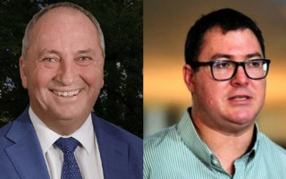 "Barnaby Joyce on George Christensen: don't ""prod the bear"""