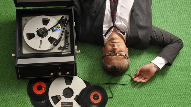 Greg Wilson C2theE2 promo photo 2 green - credit Ian Tilton
