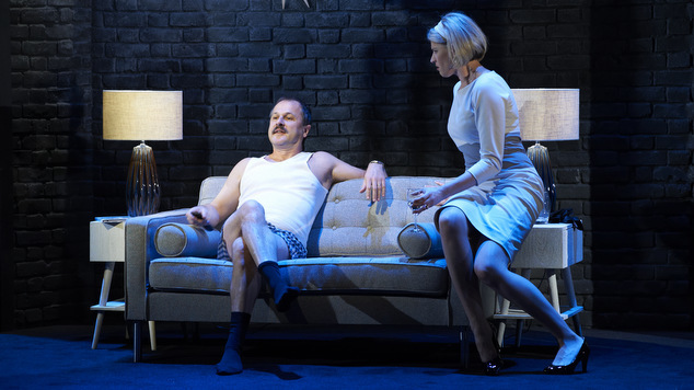 Humphrey Bower and Michelle Fornasier in 'Day One, A Hotel, Evening.'
