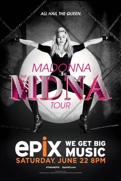 Madonna MDNA EPIX