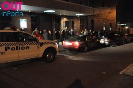 Car Crashes Outside The Court - OUTInPerth - LGBTIQ News and