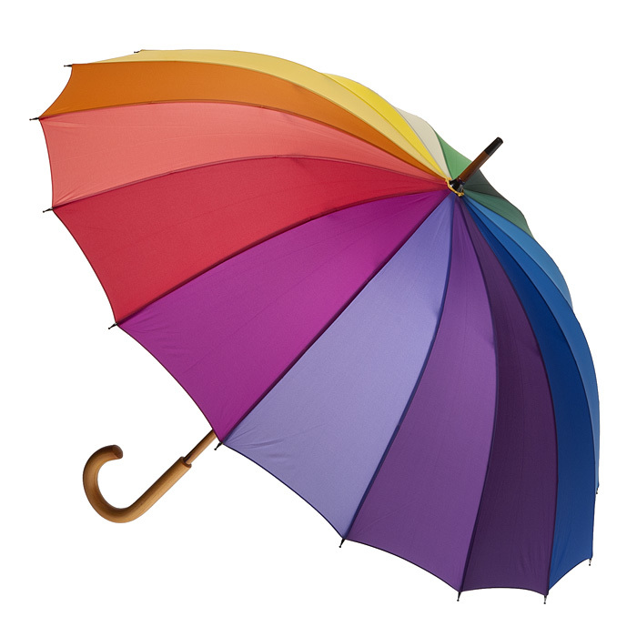 rainbow umbrella clip art - photo #17