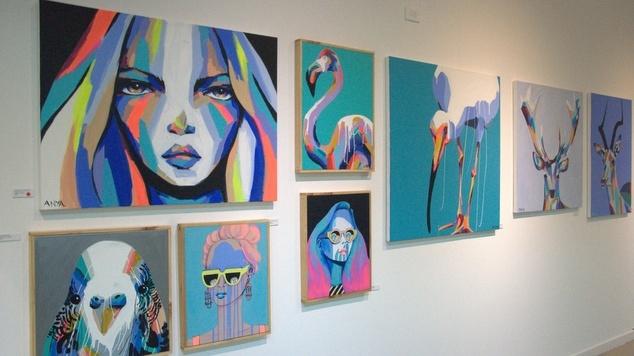 Anya Brock Fremantle MANY art