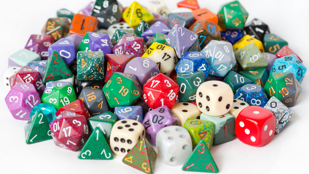 dice dungeons and dragons