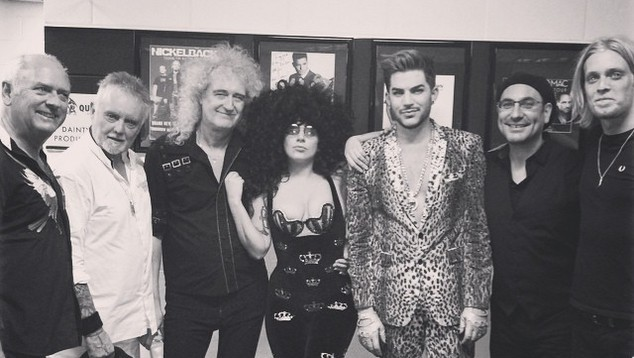 Lady Gaga Adam Lambert Queen